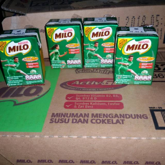 Nutrisi yang Terkandung dalam Susu MILO Kotak