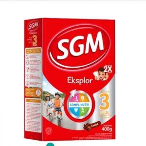 Kandungan Nutrisi SGM 3 Plus, Baik Untuk Perkembangan Buah Hati
